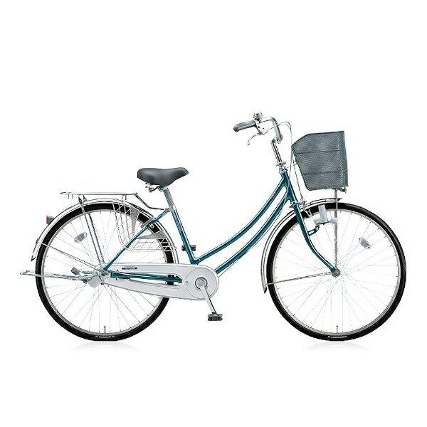 【送料無料】 ブリヂストン 26型 自転車 シティーノW(E.Xグリーンアッシュ/シングルシフト) CTW60【2016年モデル】【組立商品につき返品】 【配送】 品質があります。(品質があります。)