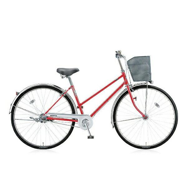 【送料無料】 ブリヂストン BRIDGESTONE 27型 自転車 シティーノS(F.Xピュアレッド/内装3段変速) CTS73T【2016年/点灯虫モデル】【組立商品につき返品】 【配送】
