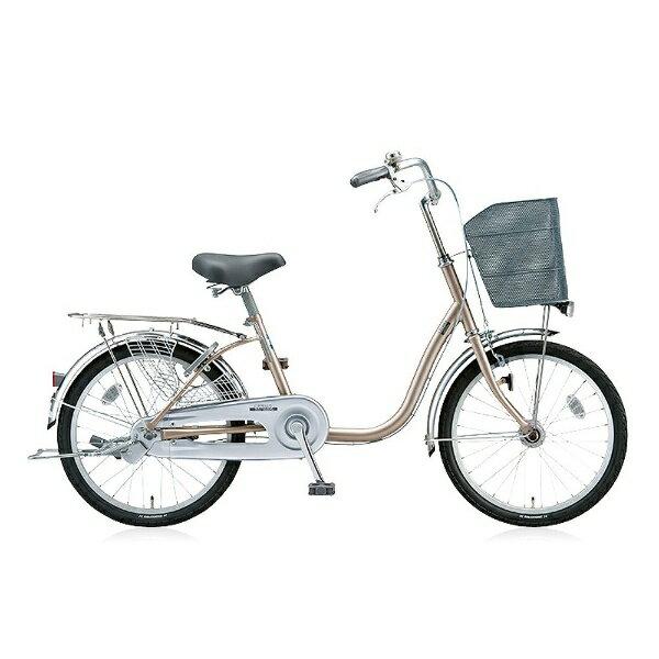 【送料無料】 ブリヂストン BRIDGESTONE 20型 自転車 シティーノミニ(M.Xウォームベージュ/シングルシフト) CTM20T【2016年/点灯虫モデル】【組立商品につき返品】 【配送】
