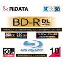�����륢�� Ͽ���� BD-R DL 1-6��® 50GB 10��ڥ������åȥץ���б��� BDR260PW6X10PSCA