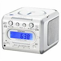【送料無料】 オーム電機(OHM) 【ワイドFM対応】CDクロックラジオ RCDC008Z