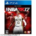 【あす楽対象】【送料無料】 テイクツー・インタラクティブ NBA 2K17【PS4ゲームソフト】