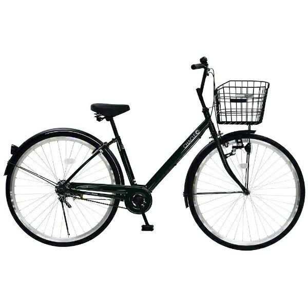 【送料無料】 チャクル 27型 ノーパンク自転車 CHACLE(グリーン/シングルシフト) CHP-CC270V【組立商品につき返品】 【配送】【メーカー直送・・時間指定・返品】 【格好いい】