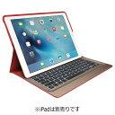 【送料無料】 ロジクール iPad Pro用(12.9インチ) Smart Connector搭載 バックライト付きキーボードケース(レッド) iK1200RDA