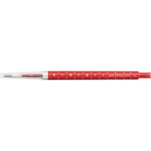 三菱えんぴつ [ゲルインクボールペン] スタイルフィット ディズニー ノック式(リフィル入) レッド (ボール径:0.38mm) UMN159DS38.15