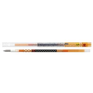 三菱えんぴつ [ボールペン替芯] スタイルフィット ディズニー ゲルインクボールペンリフィル  オレンジ (ボール径:0.38mm) UMR129DS38.4