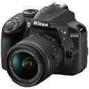 ニコン Nikon D3400 デジタル一眼レフカメラ ブラ...