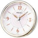 セイコー SEIKO 目覚まし時計 薄ピンク光沢仕上げ KR897P [アナログ]