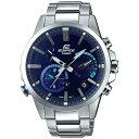 【送料無料】 カシオ [ソーラー時計]エディフィス(EDIFICE) 「TIME TRAVELLER」 EQB-700D-2AJF