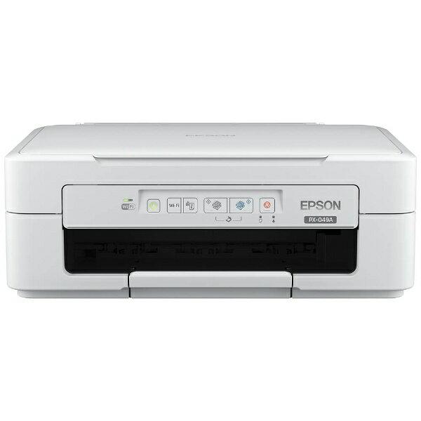 【送料無料】 エプソン EPSON A4インクジェットプリンター [USB2.0/無線LAN] Colorio PX-049A