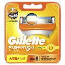ジレット 【Gillette(ジレット)】フュージョン 5+1 パワー 替刃 8個入