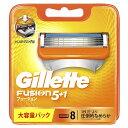 ジレット Gillette Gillette(ジレット) フュージョン 5+1 替刃 8個入 〔ひげそり〕