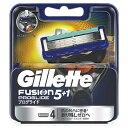 ジレット Gillette Gillette(ジレット) フュージョン 5+1 プログライド フレックスボール マニュアル 替刃 4個入 〔ひげそり〕