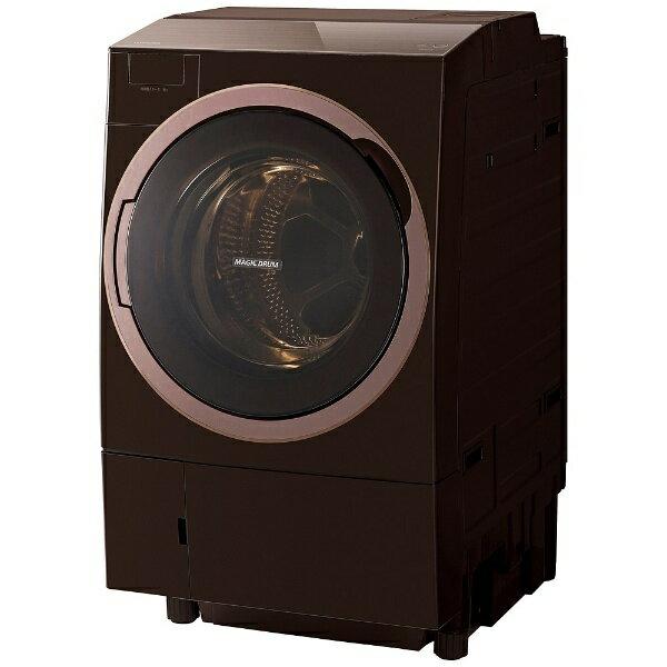 【標準設置費込み】 東芝 TOSHIBA [左開き] ドラム式洗濯乾燥機 (洗濯11.0kg/乾燥7.0kg) TW-117X5L-T グレインブラウン 【洗濯槽自動お掃除・ヒートポンプ乾燥機能付】