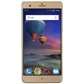 【送料無料】 ZTE Blade V7 Max GOLD「BLADEV7MAX/GOLD」 Android 6.0・5.5型・メモリ/ストレージ:3GB/32GB nanoSIMx2 SIMフリースマートフォン