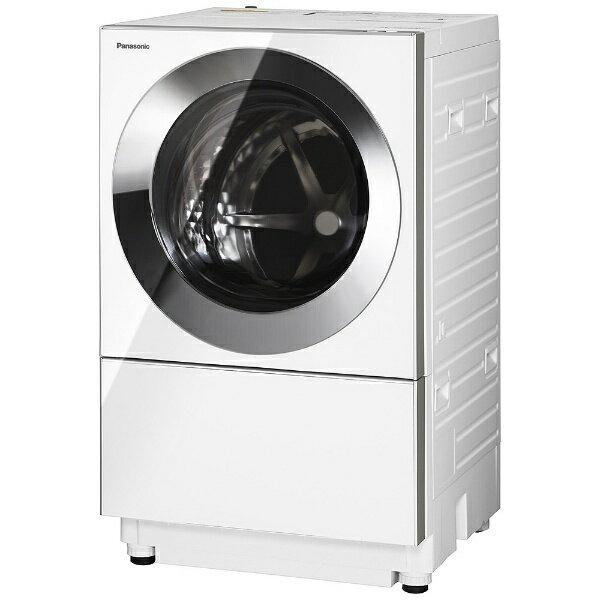 【標準設置費込み】 パナソニック [左開き] ドラム式洗濯乾燥機 (洗濯10.0kg/乾燥3.0kg)「キューブル」 NA-VG1100L-S クロームメタル 【洗濯槽自動お掃除・ヒーター乾燥機能付】