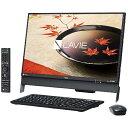 【あす楽対象】【送料無料】 NEC 23.8型デスクトップPC [Office付き・TVチューナ・Win10 Home・Celeron・HDD 1TB・メモリ 4GB] LAVIE Desk All-in-one DA370/FA ブラック PC-DA370FAB (2016年秋冬モデル)