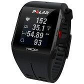 【送料無料】 POLAR ウェアラブル活動量計(リストバンドタイプ) GPS搭載スポーツ活動量計 V800 2 HR ブラック (心拍センサー付) 90060769