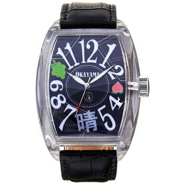 ディンクス 腕時計 ご当地三浦 岡山県「桃とデニムと晴れの国モデル」 FM04NK-OKYBK