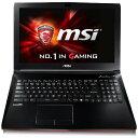 【送料無料】 MSI 15.6型ゲーミングノートPC [Win10 Home/Core i7/HDD 1TB] GL62 6QC-459JP