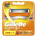ジレット 【Gillette(ジレット)】フュージョン 5+1 替刃 12個入
