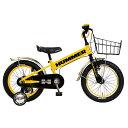 【送料無料】 ハマー 16型 幼児用自転車 HUMMER KIDS TANK3.0-SE(イエロー/シングルシフト) 13377-07 【代金引換配送不可】