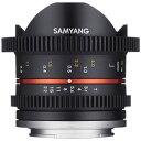 【送料無料】 SAMYANG 交換レンズ CINE 8mm T3.1 UMC Fish-eyeII【キヤノンEF-Mマウント】