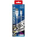 エアージェイ タブレット/スマートフォン対応[micro USB] USBケーブル 充電・転送 2A (2m・ホワイト) UKJ-STG2 WH