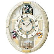 【送料無料】 セイコー SEIKO 電波からくり時計 「ディスニータイム ミッキー&ミニ−」 FW580W