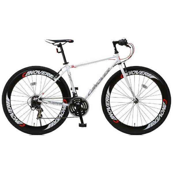 オオトモ OTOMO 700×28C型 クロスバイク CANOVER NYMPH(ホワイト/450サイズ《適応身長:155cm以上》) CAC-025【組立商品につき返品不可】 【代金引換配送不可】