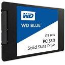 【送料無料】 WD WD Blue WDS100T1B0A (SSD/2.5インチ/1TB/SATA)