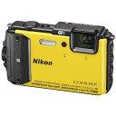 【送料無料】 ニコン コンパクトデジタルカメラ COOLPIX(クールピクス) AW130(イエロー)
