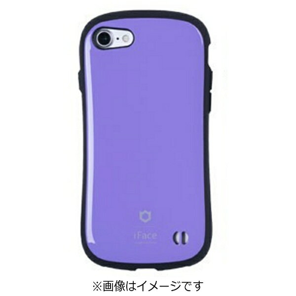 HAMEE iPhone 7用 iface First Classケース パープル