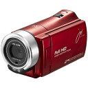 【送料無料】 ジョワイユ SD対応 フルハイビジョンビデオカメラ JOYC10(レッド)