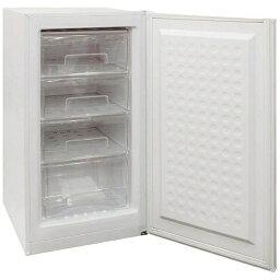 【標準設置費込み】 エスケイジャパン 1ドア冷凍庫 (120L) SFM-A120 シルバー
