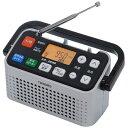 ツインバード TWINBIRD AV-J127 携帯ラジオ シルバー [テレビ/AM/FM /ワイド...