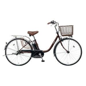 【送料無料】 パナソニック 26型 電動アシスト自転車 ビビ・FX(チョコブラウン/内装3段変速) BE-ELF63T【2017年モデル】【組立商品につき返品不可】 【代金引換配送不可】