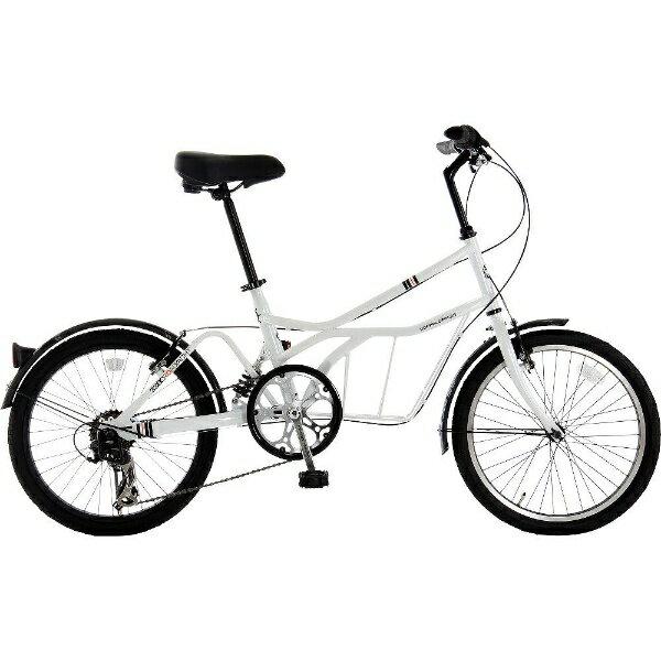 【送料無料】 DOPPEL GANGER 20型 自転車 330C ROADYACHT(サントリーニ/7段変速) 330CWH【組立商品につき返品】 【配送】【メーカー直送・・時間指定・返品】