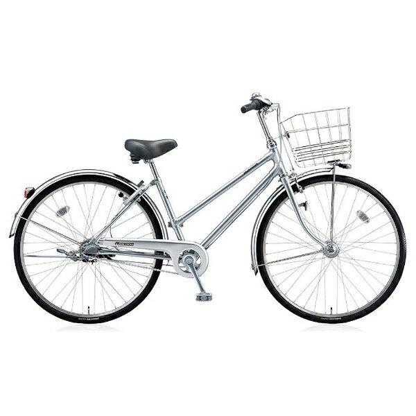 【送料無料】 ブリヂストン BRIDGESTONE 26型 自転車 キャスロング デラックス チェーン・S型(M.ブリリアントシルバー/3段変速) CDS63P【2017年モデル】【組立商品につき返品】 【配送】 【ショッピング】