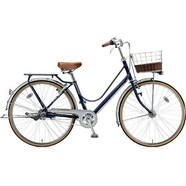 【送料無料】 ブリヂストン BRIDGESTONE 26型 自転車 カジュナ ベーシックライン(E.Xアメリカンブルー/内装3段変速) CB63T【2017年モデル】【組立商品につき返品】 【配送】