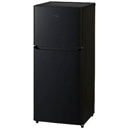 【標準設置費込み】 ハイアール 2ドア冷蔵庫 (121L) JR-N121A-K ブラック 「Haier Think Series」