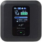 富士ソフト 【SIMフリー】富士ソフト FS030W ブラック [FS030WMB1] LTE/Wi-Fi[無線a/b/g/n/ac]microSIMx1 SIMフリーモバイルルーター[FS030WMB1]