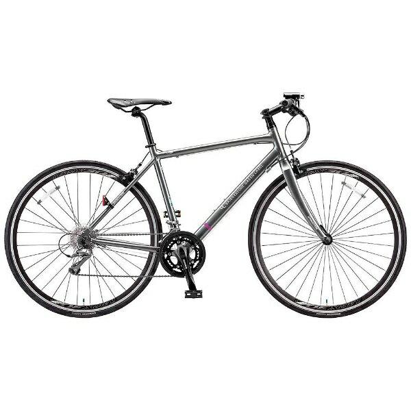 【送料無料】 ブリヂストン BRIDGESTONE 700×28C型 クロスバイク CYLVA FR16(M.ガンメタグレー/390サイズ《適応身長:144cm~157cm》) FR1639【2017年モデル】【組立商品につき返品】 【配送】