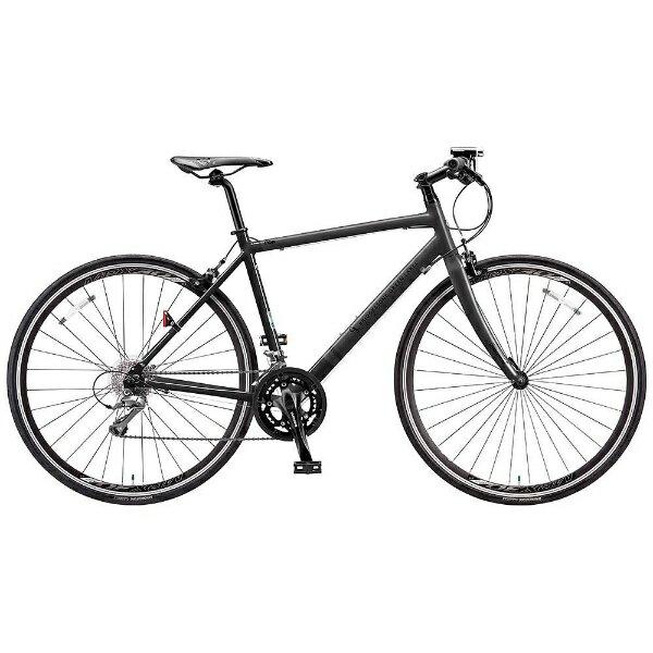【送料無料】 ブリヂストン BRIDGESTONE 700×28C型 クロスバイク CYLVA FR16(マット&グロスブラック/490サイズ《適応身長:165cm~179cm》) FR1649【2017年モデル】【組立商品につき返品】 【配送】