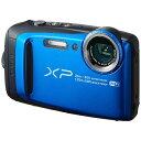 【送料無料】 フジフイルム FUJIFILM 防水コンパクトデジタルカメラ FinePix(ファインピクス) XP120(ブルー)