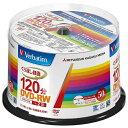 三菱化学メディア 録画用DVD-RW 1-2倍速 50枚【インクジェットプリンタ対応】 VHW12NP50SV1 VHW12NP50SV1
