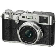 【送料無料】 フジフイルム FUJIFILM コンパクトデジタルカメラ FUJIFILM X100F(シルバー)
