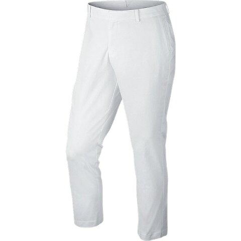 【送料無料】 ナイキ メンズ ゴルフパンツ ナイキ モダン クロップド ウォッシュド(33インチ/ホワイト×ホワイト)846730-100