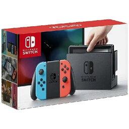 任天堂 Nintendo Nintendo Switch Joy-Con(L) ネオンブルー/(R) ネオンレッド(<strong>ニンテンドースイッチ</strong>)[2017年3月モデル] [ゲーム機<strong>本体</strong>][スイッチ ジョイコン ブルー レッド]