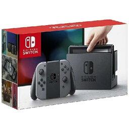 任天堂 Nintendo Nintendo Switch Joy-Con(L)/(R) グレー(<strong>ニンテンドースイッチ</strong>)[2017年3月モデル] [ゲーム機<strong>本体</strong>][スイッチジョイコングレー]